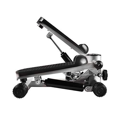 Draagbare Twist Trap, draaiende Stap Fitness Machine Met Lcd Monitor Gratis Installatie Multifunctionele Pedaal Oefening Trainers Een 42x32x30cm(17x13x12inch)