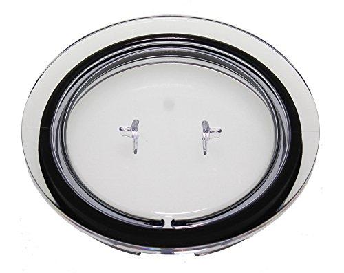 Nespressso Aerocino 3 3R Deckel für Milchaufschäumer, Teilenummer 93271, passend für 3593 & 3594, Kunststoff, transparent