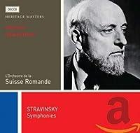 Stravinsky Symphonies: Heritage Masters