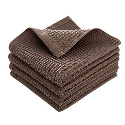 Enetix Premium 4 Pack 100% Cotton Waffle Weave ...