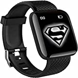 Water proof Smart fitness Band with Bluetooth And Heart Rate sensor, Activity Recorder, Sleep Monitor, Calorie Counter, Call Notifications, Alarm, Message, Usb Charging Supports smart phones, Tablets and PC's and also support Android and IOS NOTE- Ch...
