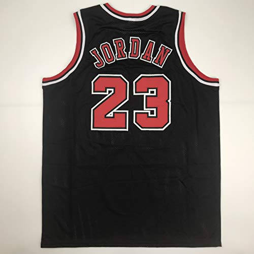 Unsigned Michael Jordan Chicago Black Custom Stitched Basketball Jersey Size Men's XL New No Brands/Logos