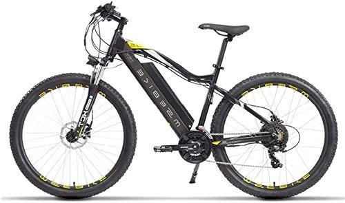 Bicicleta eléctrica Bicicleta eléctrica por la Mon 27.5' Electric Trekking/Bicicleta de Ruta, Bicicleta eléctrica de 48V con / 13Ah extraíble de Iones de Litio de la batería de suspensión, Delantero