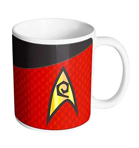 Mok Star Trek - rood kostuum