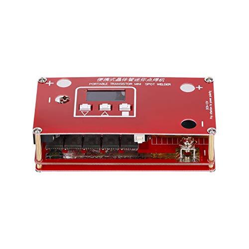 KKmoon Máquina de Soldador de Punto para Bateria 18650 Litio Batería Fuente de Alimentación de Soldadura