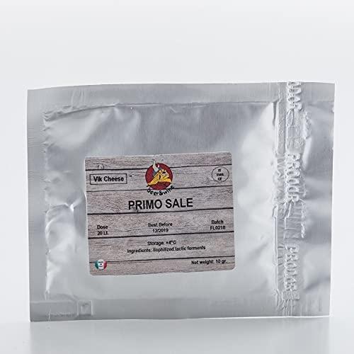 Primo Sale 20g / 20L - Ferment Fromage - Fromage Italien | Ferment Lactique | Les bactéries de fromage | Geler Culture séché