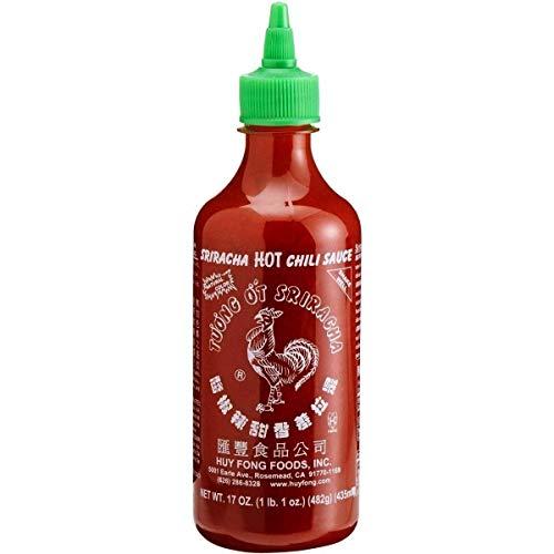 Molho de Pimenta Tailandês Sriracha - Huy Fong 435mL