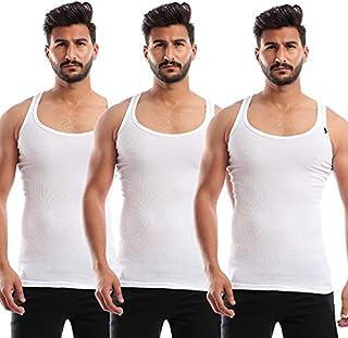 Sleeveless Undershirt for Men, Set of 3 - - 2725604627450