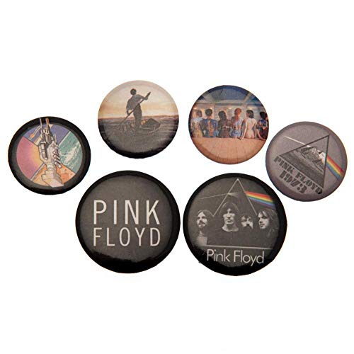 Pink Floyd Ansteckbutton-Set (Einheitsgröße) (Bunt)