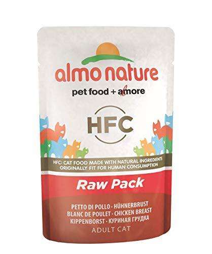 almo nature Cat Food Classic Raw Confezione Sacchetto Petto...