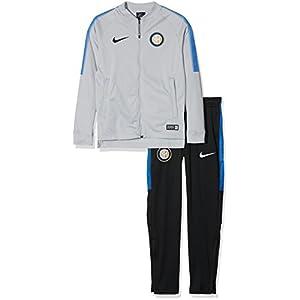Nike Inter Dry Sqd TRK K Chándal, Hombre, Gris Lobo Azul Royal ...