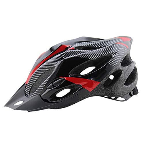 Casque de vélo Yuan Ou Casques de vélo de Montagne Eps Ultralight Mountain Bike Safety Cycle Bike Equipment Casque 56-62 cm Rouge 3