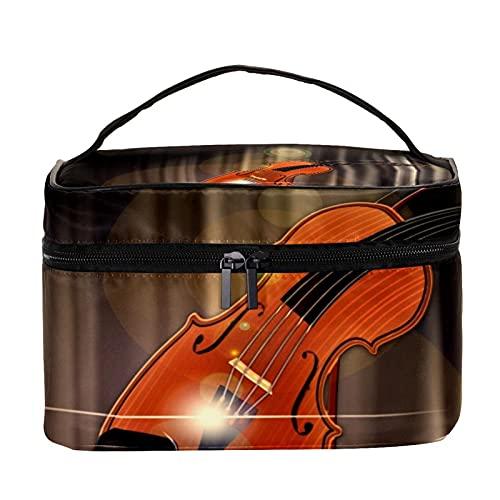 Bolso de mano de mariposa colorido organizador de artículos de tocador, grande para mujeres y niñas, bolsa de lavado portátil