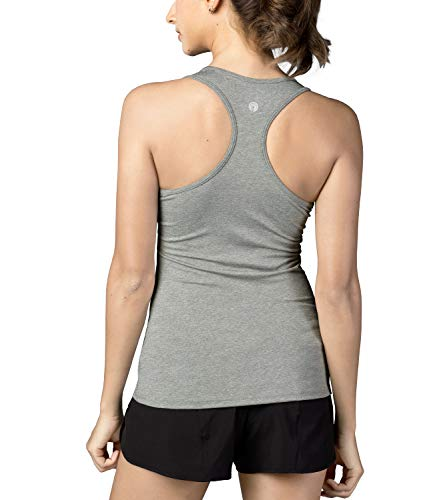 LAPASA Camiseta Deportiva para Mujer sin Mangas (Tank Top, Camiseta de Tirantes). L06