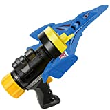 Bubble Catapult Flying Airplane Toys, One-Button Catapult Model Electric Power & Throwing Foam Airplane Children Outdoor Launcher Gliding Airplane Gifts for Kids Family Outdoor Sport Party (Blue)