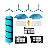 Kit de accesorios MIKONG para Cecotec Conga 4690 Ultra 6090 Ultra 7090 IA 4090 4490 5090 5490 Piezas de repuesto para robot aspirador 12 paquetes de cepillo principal, filtro y cepillo lateral