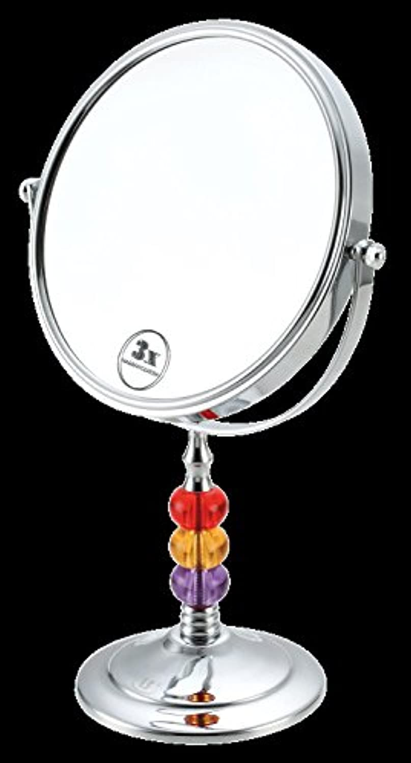 The wall mount is two-sided makeup mirror Beauty Mirror mirrors