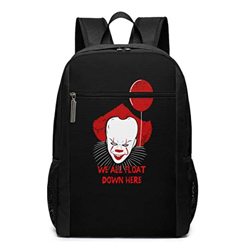 Unknown brand We All Float Down Here Laptop Backpack 17-Inch Travel Backpack Bookbag Bussiness Bag