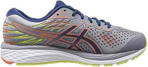 Asics Gel-Cumulus 21, Zapatillas de Running para Hombre, Gris (Sheet Rock/Mako Blue 020), 43.5 EU