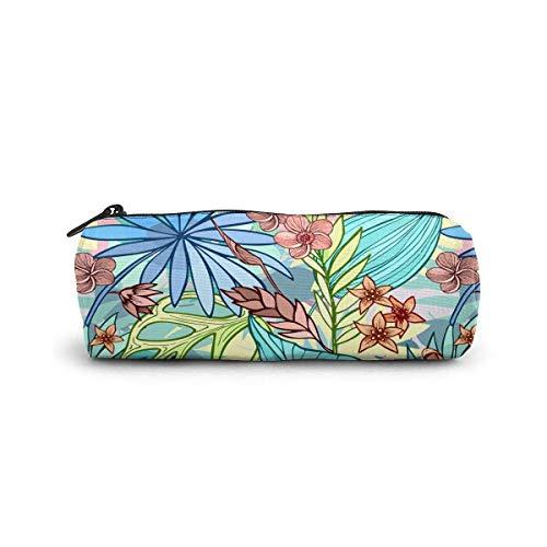 Beau sac cosmétique tropical lumineux artistique petit sac de maquillage de stockage de voyage sacs à main