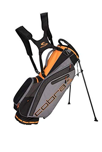 Cobra Golf 2019 Ultralight Stand Bag (Black-Orange)