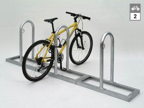 WSM Fahrradständer - Anlehnsystem Track 31 - für 2 Fahrräder