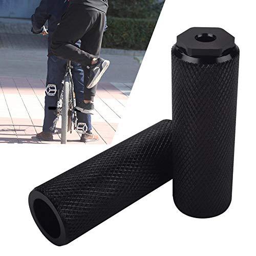 knowledgi Fahrrad Pegs Aluminiumlegierung Anti-Rutsch Blei Fuß Fahrrad Heringe BMX Fahrrad Pegs Für Mountainbike Rennrad Radfahren Hinten Stunt Heringe