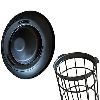 KALIONE Cage à oiseaux en fer forgé avec plateau de jeu et support à roulettes pour perroquets, conures, inséparables, calopsittes