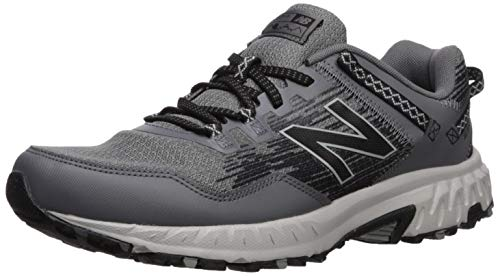 New Balance Men's 410 V6 Trail Running Shoe, Castlerock/Rain Cloud, 12 M US