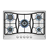 Empava 30' Gas Cooktop in Stainless Steel with 5 Burners 30XGC21