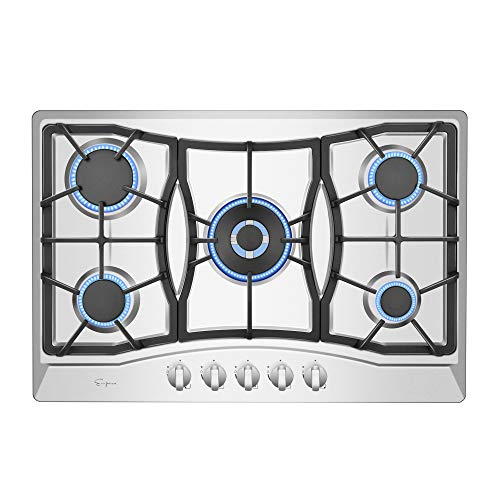 "Empava 30"" Gas Cooktop in Stainless Steel with 5 Burners 30XGC21"
