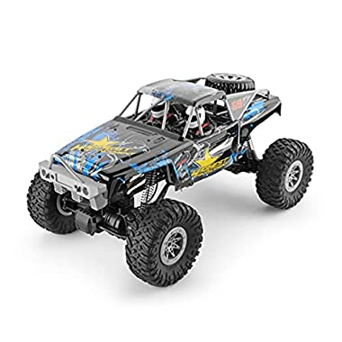DEORBOB 4WD Radio Controlled Car Childrens RC Toys 2.4G Remote Control Cars High Speed Electric 45° Slope Climbing Off…