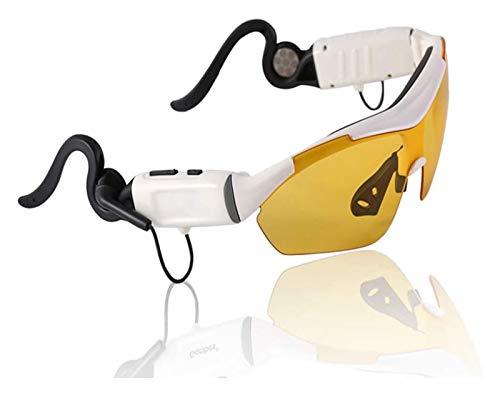 Sport Sonnenbrille Bluetooth Headset Sonnenbrille Polarisierte Gläser Wireless Bluetooth 4.1 + EDR Musik Kopfhörer Freisprecheinrichtung W / MIC 2 Farben für Smartphones Tablet PC Laufbrille bluetooth