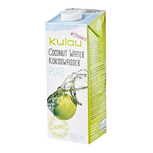 Kulau Bio-Kokoswasser Pure, 4er Pack (4 x 1 l)