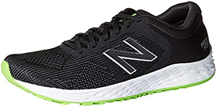 new balance Men's Arishi V2 Fresh Foam Running Shoe, Black/RGB Green, 9 4E US