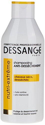 DESSANGE - Nutri-Extrême Shampooing Anti-Dessèchement Pour Cheveux Secs Ou Desséchés 250 ml - Lot de 2