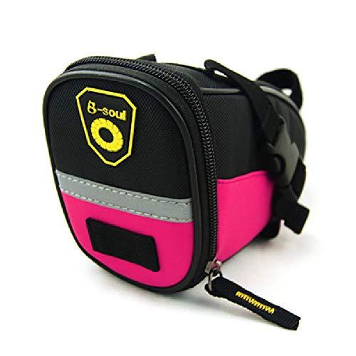 Sac de Selle de vélo de Montagne-Kit d'outils-Équipement de vélo, Accessoires de vélo Professionnel-Pink