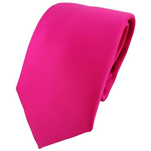 TigerTie - Corbata - pink rosa monocromo