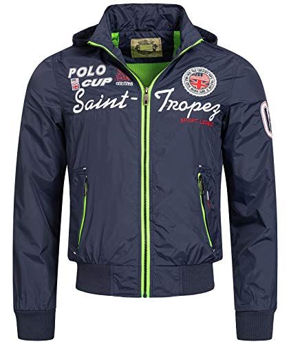 Rock Creek Selection Herren Jacke Übergangsjacke S-3XL [H-007 Navy Gr. M]