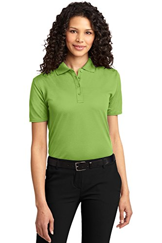 Port Authority L525 - Polo otomano para Mujer Green Oasis X-Large