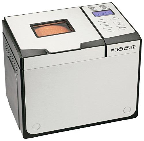 Jocel BM1309-B Negro, Color blanco 650W - Panificadora (Aluminio, Negro, Color blanco, 1 kg, Masa, 750 g, LCD)