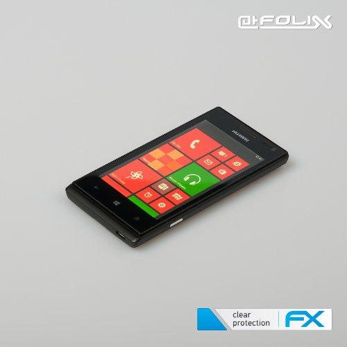 atFoliX Displayschutzfolie Huawei Ascend W1 (3 Stück) - FX-Antireflex, antireflektierende Premium Schutzfolie - 5