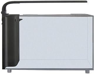 JBJ Rimless Desktop 6 Gallon Curved Glass Aquarium w/LED Light (RL-6-CP)