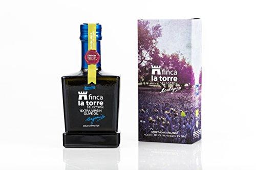 6 botellas vidrio 500 ml - Finca la Torre - Aceite de oliva virten ext