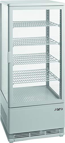 Saro 330–1012SC 100vetrina Frigo ventilato, 98L, colore: bianco