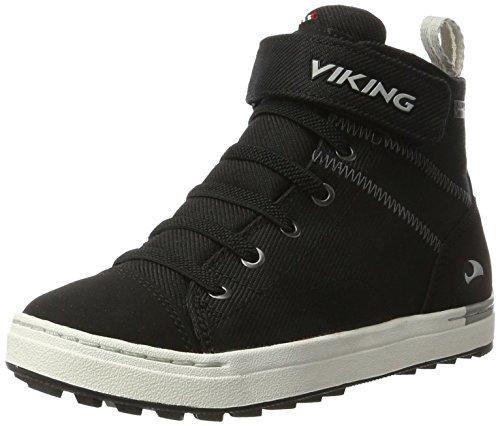 viking Unisex-Kinder SKIEN MID GTX Outdoor Fitnessschuhe, Schwarz (Black/White), 33 EU