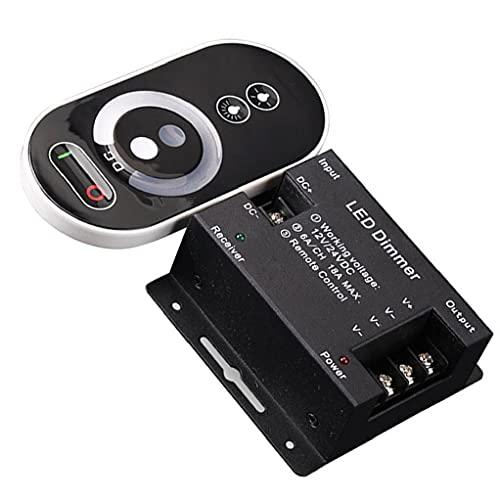 LED Touch Dimmer 6 Teclas Interruptor Dimmer inteligente con control remoto de brillo inalámbrico (sin batería)