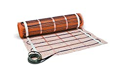 professional SunTouch (120V) floor heating mat 10sq.  Ft. , 30 x 4, adapt to your space and add luxury and …