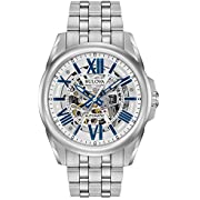 Bulova Classic Automatic Mens Stainless Steel , Silver-Tone (Model: 96A187)
