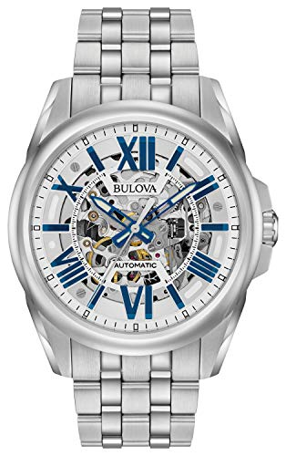 Bulova Sutton 96A187, Skeleton